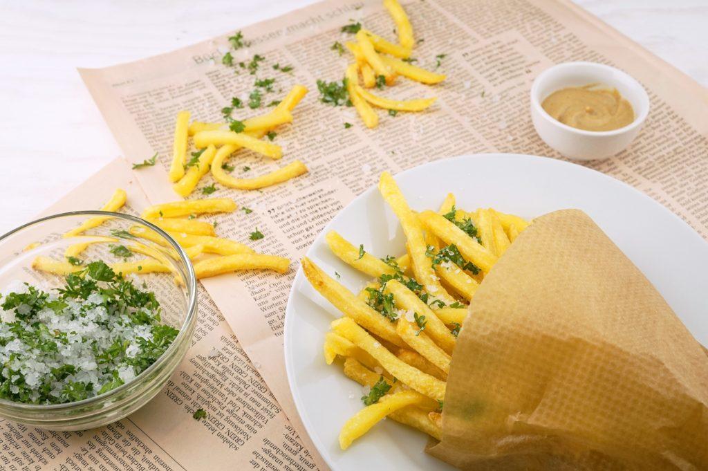 Recette des frites au romarin et paprika fumé