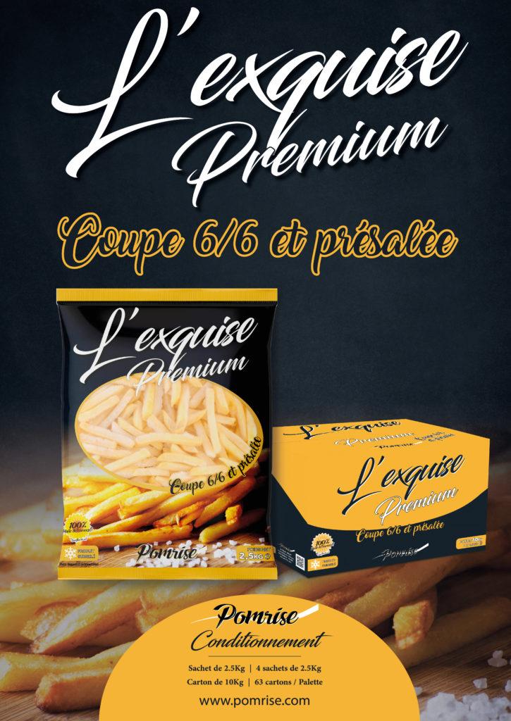 Frites L'exquise premium 6/6