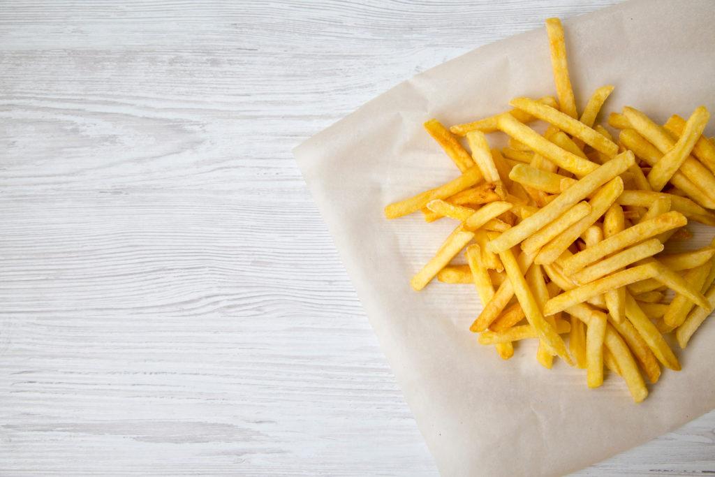 Les origines de la frite